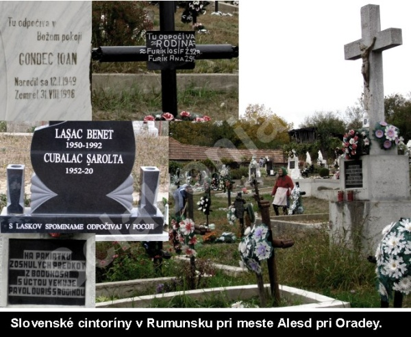 Slovenské cintoríny v Rumunsku