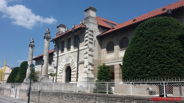 Krásne múzeum v Bad Deutsch Altenburgu.