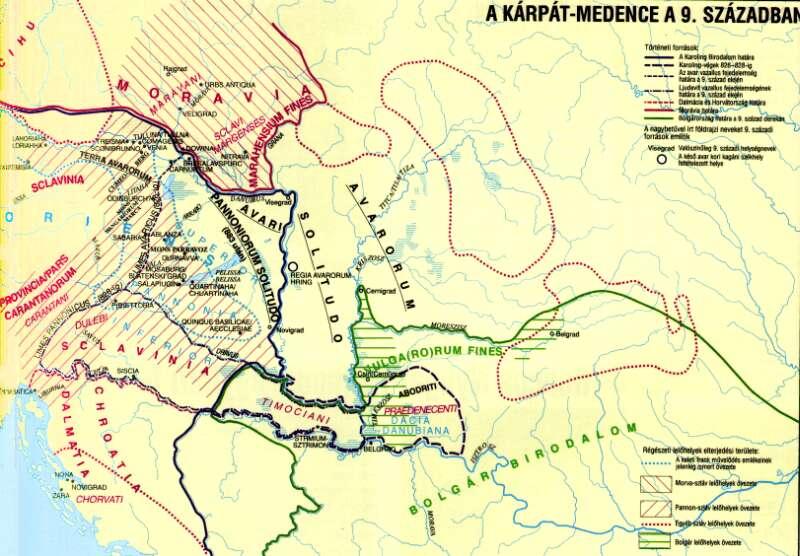 Avarorum solitudo - avarská pustatina - nebola až taká pustá, lebo vieme, že z nej Avari obsadili Dalmáciu.