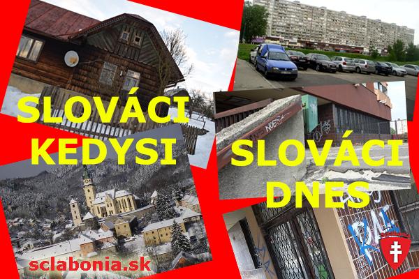 Ako žili Slováci kedysi a ako žijú dnes.