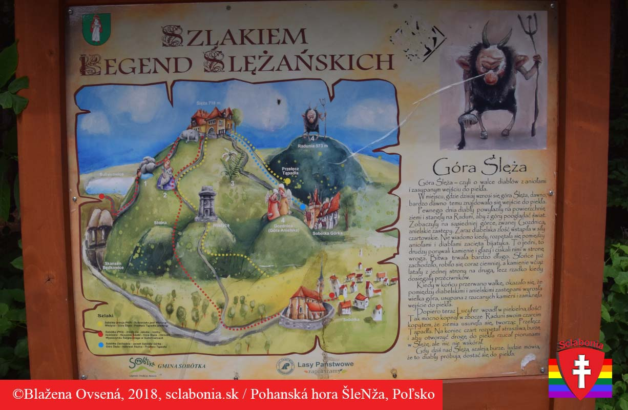 ŠleNža - posvätná pohanská hora